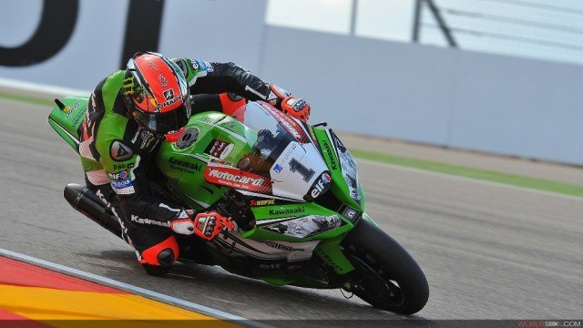 Carrera 1 superbikes aragon