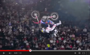 Dany en los Red Bull X-Fighters 2014