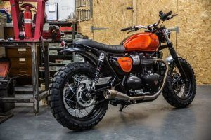 Triumph Street Twin Custom Down and Out Cafe Racers