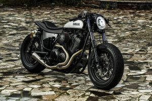 "Yamaha Yard Built XV950 ""Speed Iron"" de Moto di Ferro"