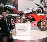 Bimota gana el Motorcycle Design Award con la DB5