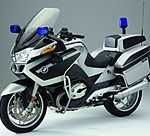 BMW presenta en el Salón Milipol de Paris una R1200 RT especial para la policía alemana
