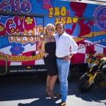 Pocholo se lleva una Benelli Café Racer de gira por España