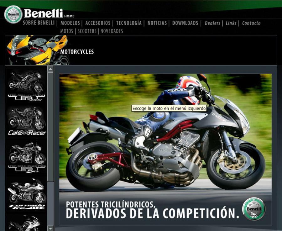 Paginas de motos
