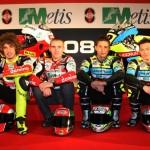 Gilera presenta sus dos formaciones para el Mundial de 250cc