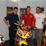 Joan Olivé de vacaciones con la Derbi Rambla 250i cc
