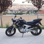 Probamos una moto ideal para iniciarse: la Yamaha YBR 250