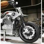 Galería de imágenes de la V12, la concept bike de Moto Guzzi presentada en el EICMA