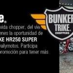 Participa en el Quizz DailyMotos.com y gana un Bunker-Trike