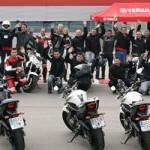 Éxito de participación en el Curso Yamaha XJ6 Diversion Experience