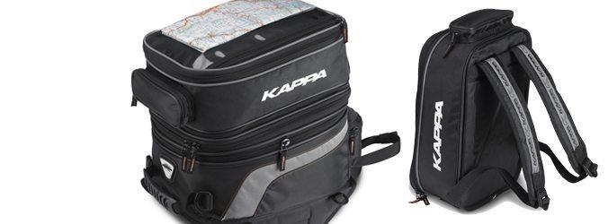carro desastre alondra  ▷▷ Kappa TK749, la bolsa sobredepósito convertible en mochila