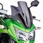 Una Kawasaki Z750R 2011 más cómoda con la nueva pantalla de Puig