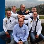 Bordone-Ferrari se presenta en Barcelona con las máximas aspiraciones deportivas