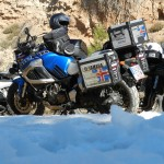 La Super Ténéré Adventure invitada de excepción en la Estrella de Javalambre 2012