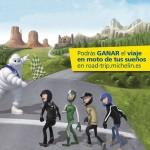 Forma un equipo de hasta cuatro amigos y consigue el viaje de tus sueños con Michelin Road Trip
