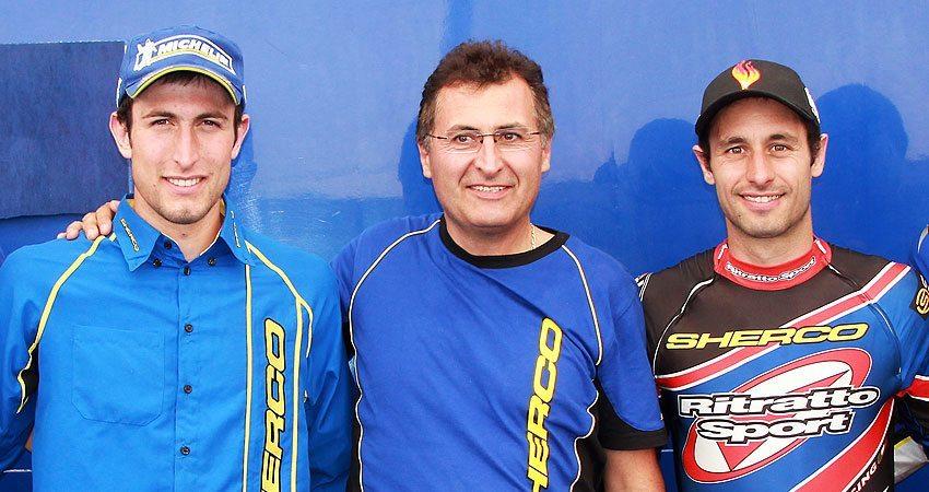 Alexandre Ferrer , Marc Teissier y Albert Cabestany