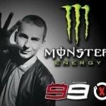 Monster Energy Drink vestirá a Lorenzo, Rossi y las Yamaha YZR-M1