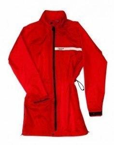 vespa cappotto antipioggia rosso
