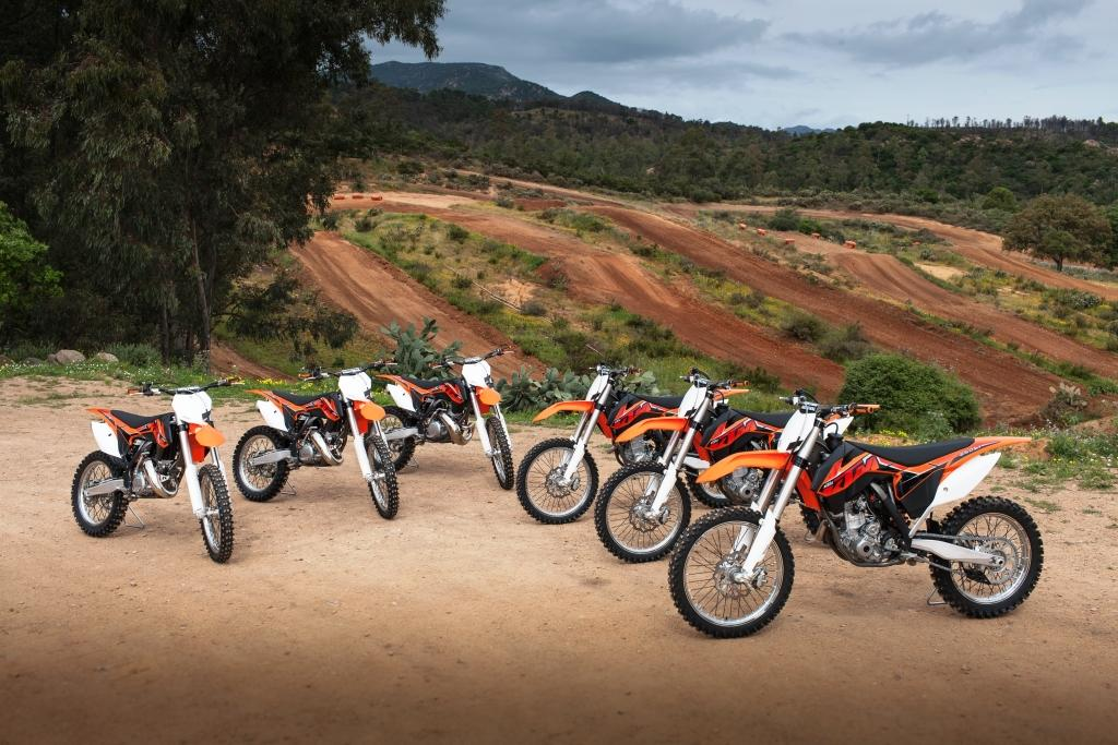Motcross bikes