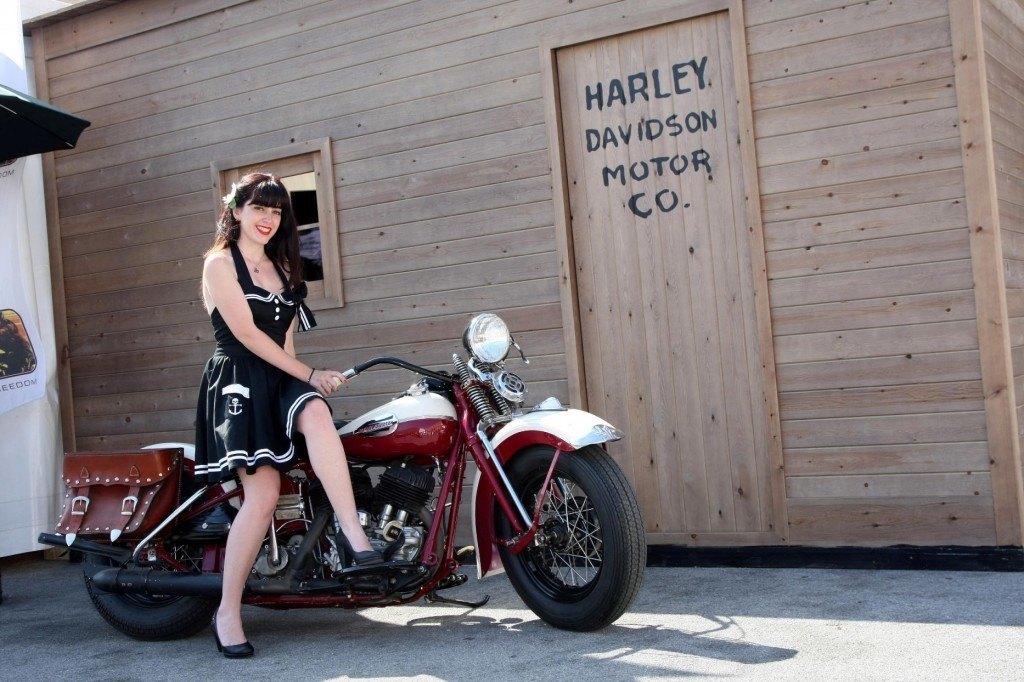Barcelona Harley Days 2013 cabaña