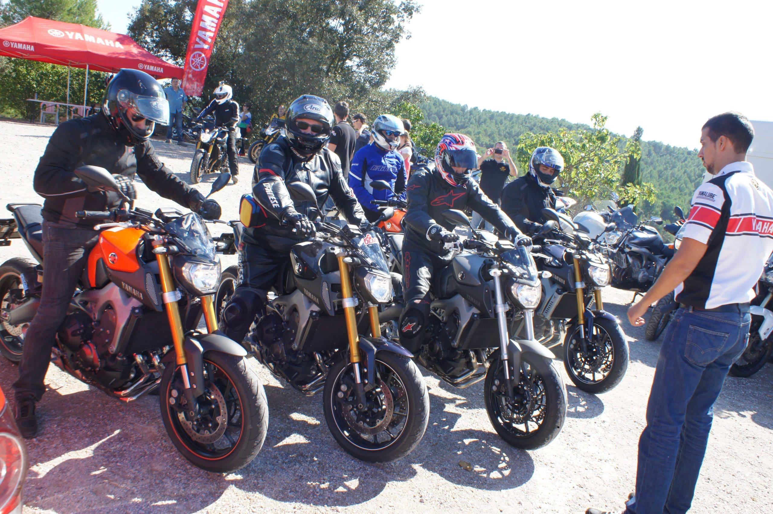 Yamaha MT 09 test