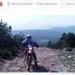 Lanzan una petición en Change.org para ayudar a la moto de campo