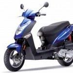 La marca de scooters Kymco aumentó sus ventas y su cuota de mercado en 2013