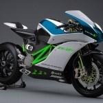Nuevas patentes de moto eléctrica de Kawasaki
