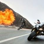 """La BMW S 1000 RR protagonista del film """"Misión imposible: Nación secreta"""""""