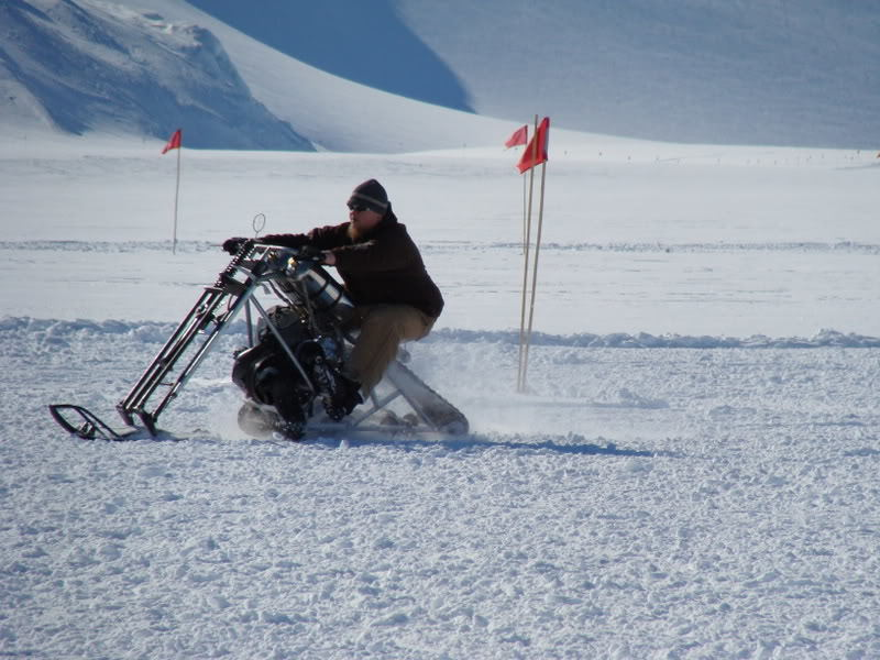 Chopper Snow Bike