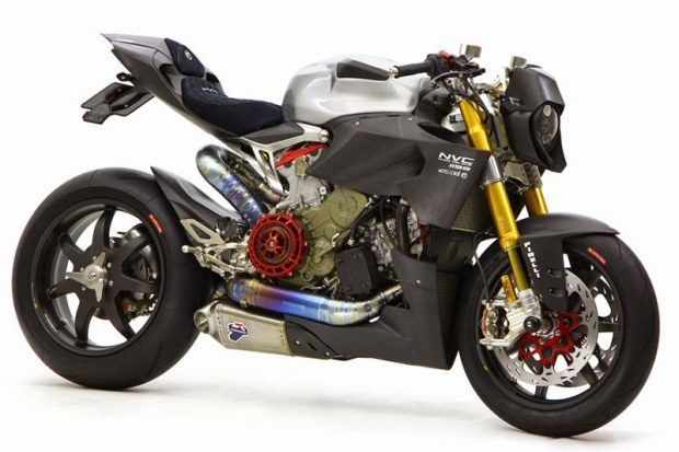 Nuda Veloce Ducati 1199 Panigale Desnuda Por Moto Corse Japón