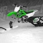 Holeshot SnoRipper RPZ 110. Convierte tu moto de cross, en moto de nieve
