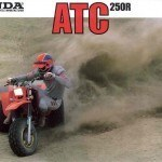 Honda 3 wheeler 1985