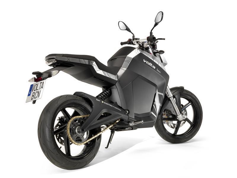 el proyecto de moto elctrica volta vuelve a la vida