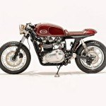Triumph Thruxton café de Kott Motorcycles para Ryan Reynolds