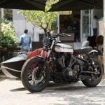 Yamaha y Deus es Machina presentan el primer trabajo Yard Built con sidecar