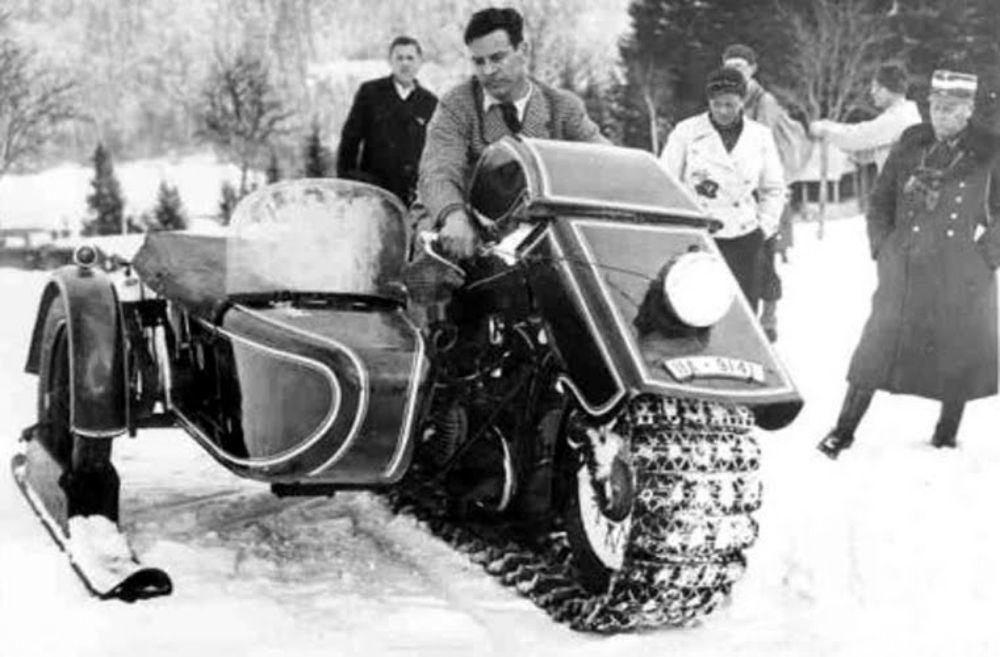 BMW Schneekrad de 1936