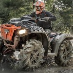 Polaris Sportsman High Lifter Edition Stealth Black. Directo al barro…