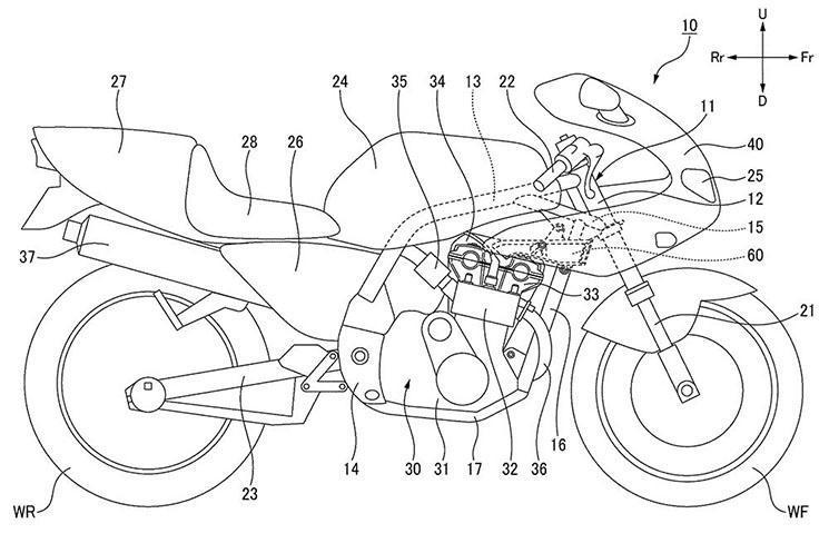 Patentes CB1100R