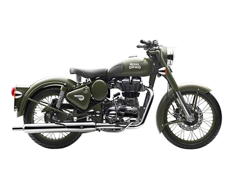 Royal Enfield Classic 500 Battle Green (1)
