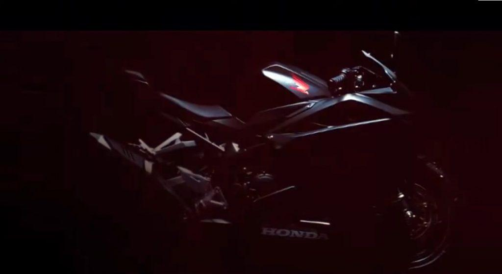 Honda CBR 250 RR teaser