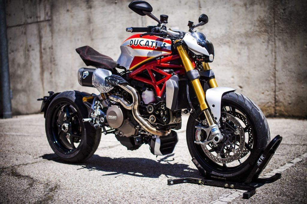 XTR Siluro Ducati Monster 1200 S (9)