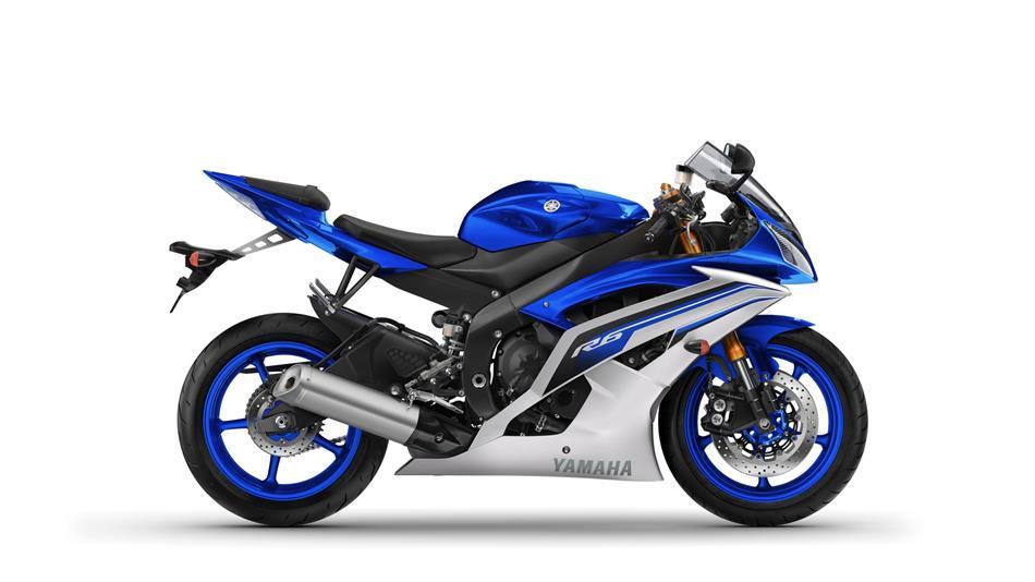 Yamaha YZF-R6 azul del 2016