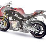 BMW Motorrad estudia nuevos diseños de bastidor en fibra de carbono