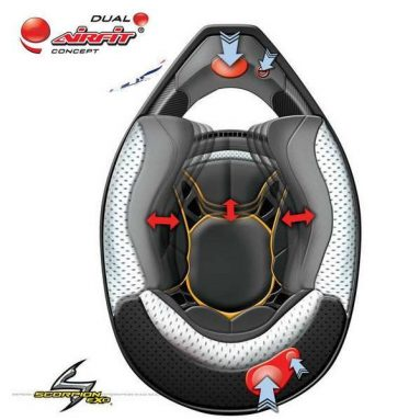 Scorpion Exo VX-20 Air, el primer casco off-road con tecnología Dual Airfit