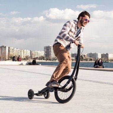 Nuevo y espectacular proyecto de bici plegable Kolelinia Halfbike