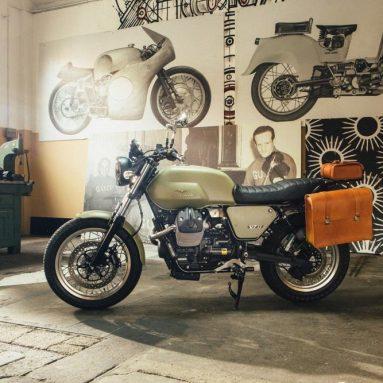 Garage Moto Guzzi, kits de personalización para la V7 II