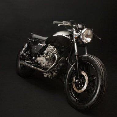 Restauración custom Moto Guzzi V35C de Vernier Custom