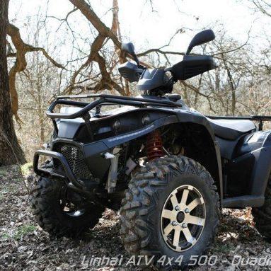Quad Linhai M550, una ATV muy fiable y equipada
