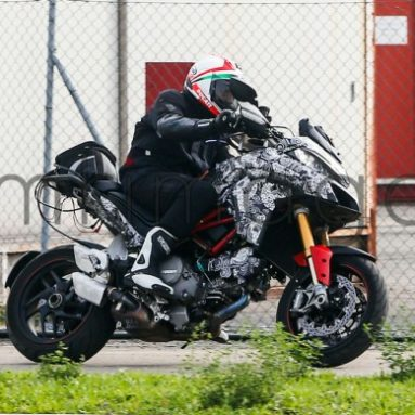 Cazada la Ducati Multistrada 1200 DVT 2015
